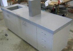 Sink, Bench and Cupboard Units